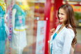 Window-shopping — Stock Photo