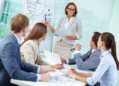 Working seminar — Stock Photo