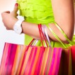 dopo lo shopping — Foto Stock