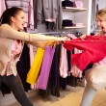 ショッピングの暴力 — ストック写真