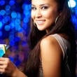 At nightclub — Stock Photo