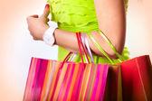 Dopo lo shopping — Foto Stock