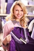 Pretty shopper — Stock Photo