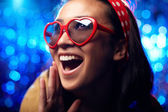 Ecstatic girl — Stock Photo