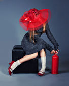 Fashion girl — Foto de Stock