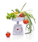 Zdrowa żywność na ciężarki — Zdjęcie stockowe