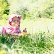 Little child in the park - Stock Photo
