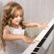 Little piano player — Stock Photo #12063470