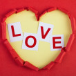 Heart with love - Stock Photo