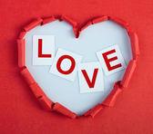 Cuore innamorato — Foto Stock