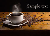 Cup of espresso — Stock Photo
