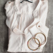 White blouse — Stockfoto