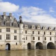 Castle and garden of Chenonceau — Stock Photo