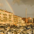 Stock Photo: Port of Nice after storm