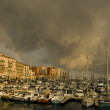 Stock Photo: Port of Nice after the storm