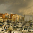 Port of Nice after the storm — Stockfoto
