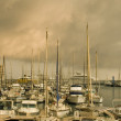 Port of Nice after the storm — Stock Photo #10861252
