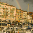 Port of Nice after the storm - Foto Stock