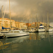 Port of Nice after the storm — Stock Photo #10861261