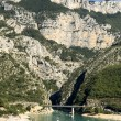 The Verdon Gorge - 图库照片