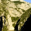 The Verdon Gorge - Stok fotoraf