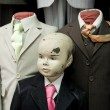 Old mannequins - Stock Photo