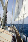 Horizon over the deck — Stock Photo