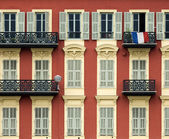 Front of house in Nice — Stock Photo