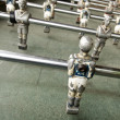 Old foozball - Stockfoto