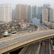 Urban highway in Shanghai - Foto Stock