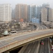 Urban highway in Shanghai - Stock Photo