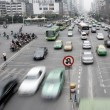 Traffic in Shanghai - Stock Photo
