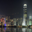 Night scene of Hong Kong, you can see the pollution — Stock Photo #10877749