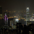 Night scene of Hong Kong, you can see the pollution — Stock Photo #10877790
