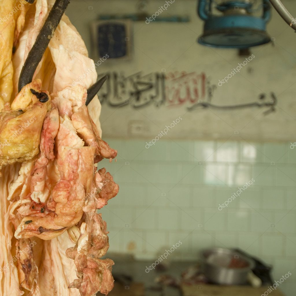 Butcher shop in Kenya — Stock Photo #10870065