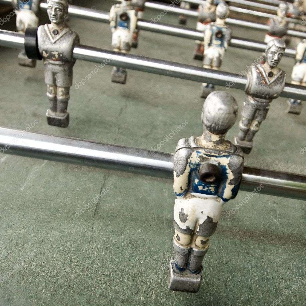 Old foozball  Stock Photo #10873529