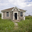 Destructed House after Hurricane Katrina, New Orleans, Louisiana — Stock Photo