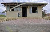 Destructed House after Hurricane Katrina, New Orleans, Louisiana — Stock Photo