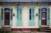 Front of house in New Orleans, Louisiana — Stock Photo