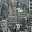 New York City skyline view from Rockefeller Center, New York, USA - 图库照片