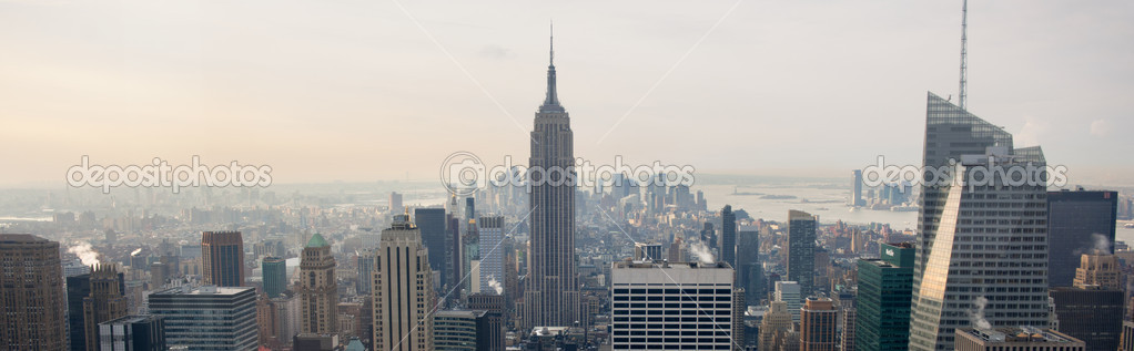 View of New York City from Rockefeller Center, New York, USA — Stock Photo #10897533