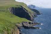 Mykines landscape, Faroe Islands — Stock Photo