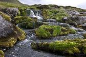 Waterfall on Faroe Islands — Stock Photo