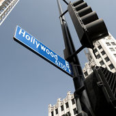 Hollywood boulevard sign, California, USA — Stock Photo