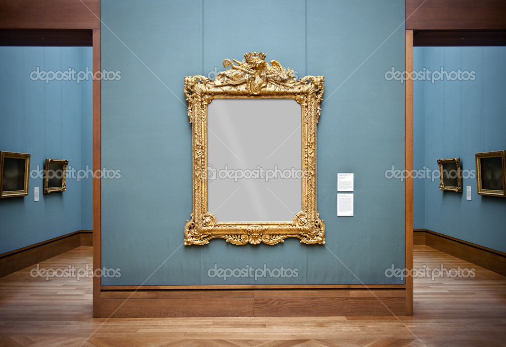 Frame at the Getty Center, Los Angeles, California, USA — Stock Photo #11718765