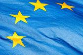 Fragment of EU Flag — Stock Photo