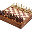 Chess figures on the board — Stock Photo #10756202