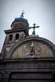 Church facade in Venice, Italy — Stock Photo