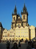 Teyn Church Prague — Stock Photo