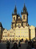 Teyn Church Prague — Stock Photo
